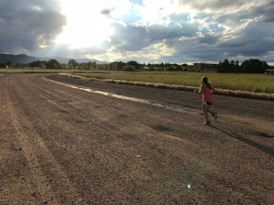 Nat on the dirt Road