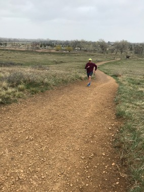 Rob Crushing his Hill workout